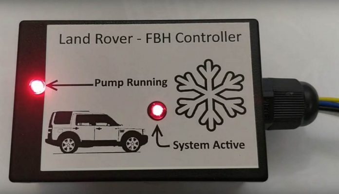 FBH Controller - EU Left Hand Drive Vehicles